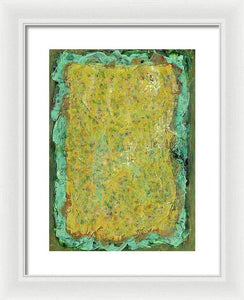 Framed Print, Kappa #2 Abstract Wall Art - Framed Print,Sensory Art House