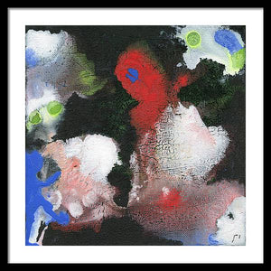 Kappa 27 Abstract - Framed Print