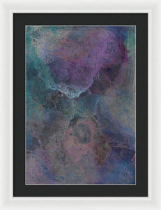 Framed Print, Kappa(κ) #8  - Premium Framed Print,Sensory Art House
