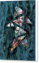 Load image into Gallery viewer, Canvas Print, Kappa(κ) #9  - Abstract Wall Art - Canvas Print,Sensory Art House