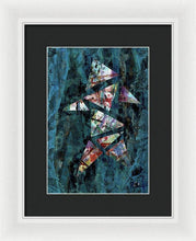 Load image into Gallery viewer, Framed Print, Kappa(κ) #9  - Premium Framed Print,Sensory Art House