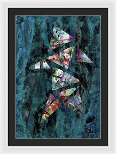 Framed Print, Kappa(κ) #9  - Premium Framed Print,Sensory Art House