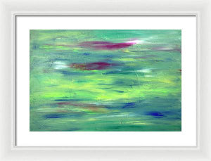 Lamda 15 Abstract - Framed Print