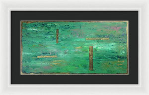 Lamda 16 Abstract - Framed Print