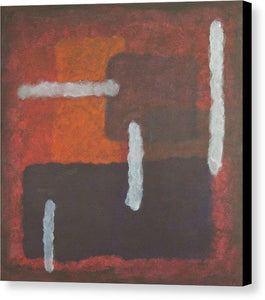 orange-abstract-Mu 11 Abstract Wall Art - Canvas Print
