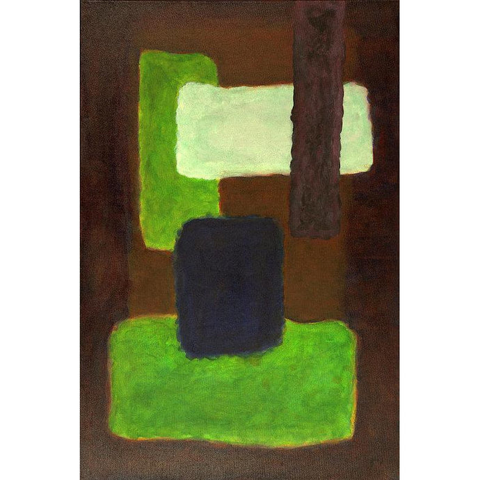 Mu 13 Abstract Wall Art Print-in-style-of-mark-rothko