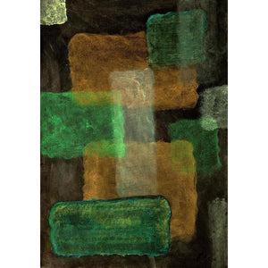 Art Print, Mu(μ) #16 Abstract Wall Art Print,Sensory Art House