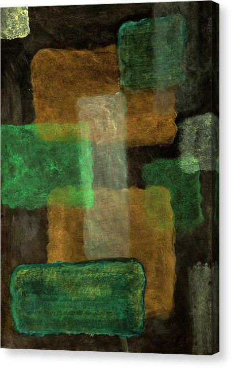Canvas Print, Mu #16 Abstract Wall Art - Canvas Print,Sensory Art House