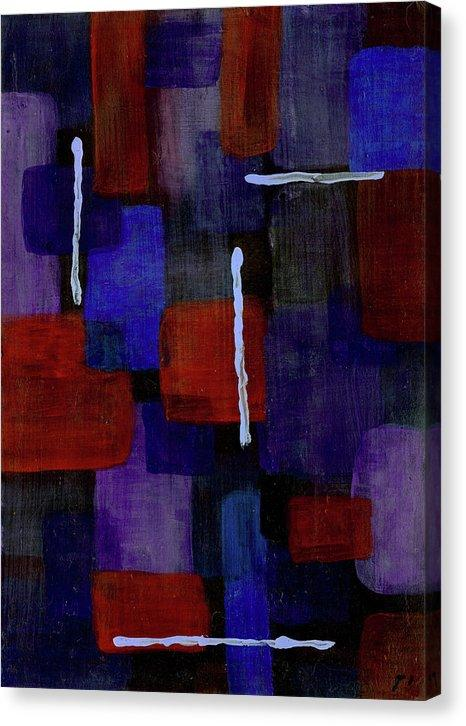 Canvas Print, Mu #18 Abstract Wall Art - Canvas Print,Sensory Art House