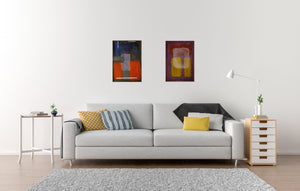 Canvas Print, Mu #19 Abstract Wall Art - Canvas Print,Sensory Art House