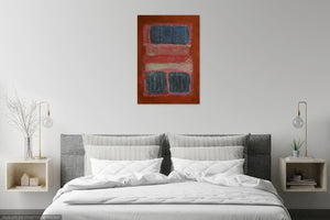 Canvas Print, Mu(𝝻) #23  - Abstract Wall Art - Canvas Print,Sensory Art House