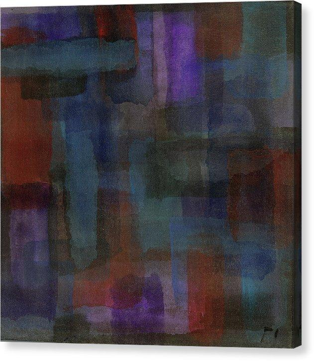 Canvas Print, Mu #9 Abstract Wall Art - Canvas Print,Sensory Art House