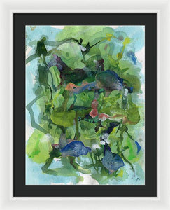 Phi 12 Abstract - Framed Print
