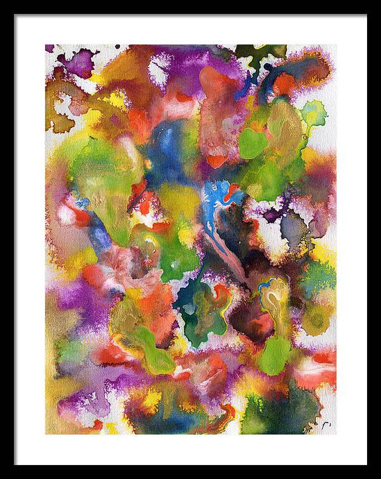Psi 7 Abstract - Framed Print