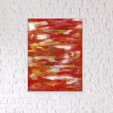 Load image into Gallery viewer, red abstract art Gamma 104 Abstract Wall Art Print-Sensory Art House