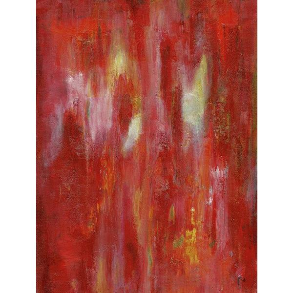 red abstract art Gamma 105 Abstract Wall Art Print-Sensory Art House