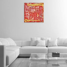 Load image into Gallery viewer, red abstract art Gamma 11 Abstract Wall Art Print-Sensory Art House
