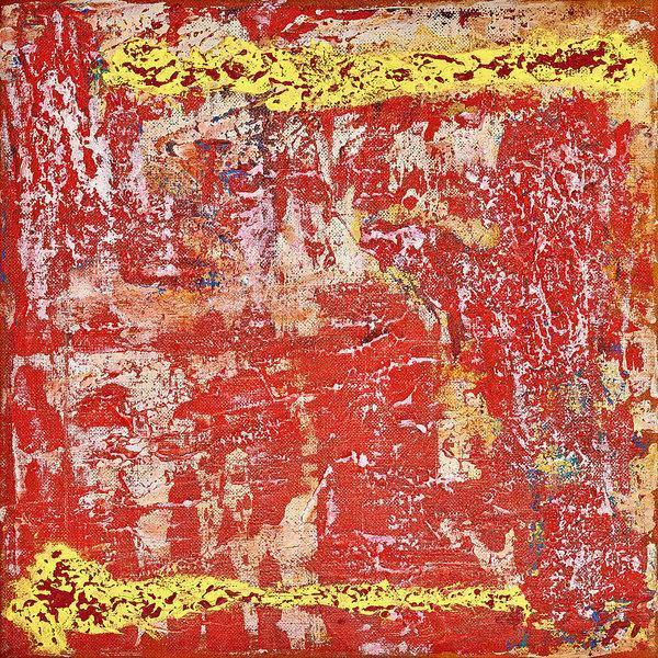 red abstract art Gamma 11 Abstract Wall Art Print-Sensory Art House
