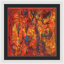 Load image into Gallery viewer, orange-abstract-Gamma 126 Abstract - Framed Print