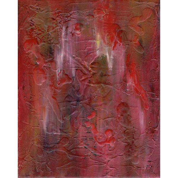 red abstract art Gamma 128 Abstract - Art Print-Sensory Art House