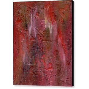 red-abstract-art-Gamma 128 Abstract - Canvas Print-Sensory Art House