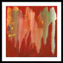 Load image into Gallery viewer, orange-abstract-Gamma 130 Abstract - Framed Print