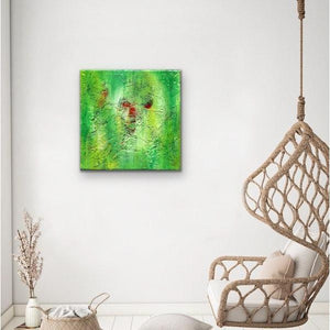 green-abstract-art-Gamma 133 Abstract - Art Print-Sensory Art