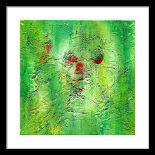 Load image into Gallery viewer, green-abstract-art-Gamma 133 Abstract - Framed Print-Sensory Art