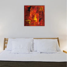 Load image into Gallery viewer, red abstract art Gamma 28 Abstract Wall Art Print-Sensory Art House