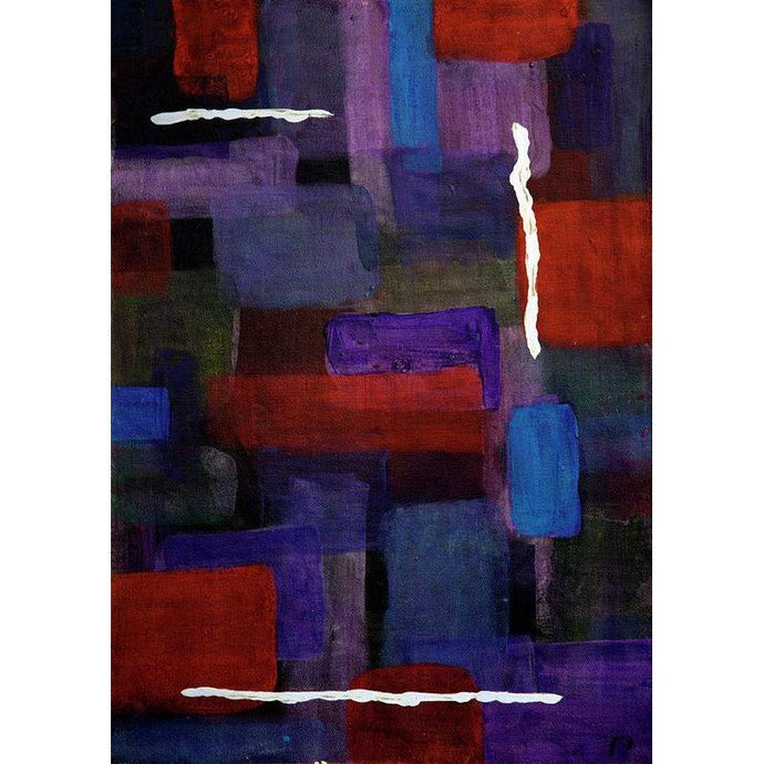 purple-abstract-Mu 22 Abstract Wall Art Print