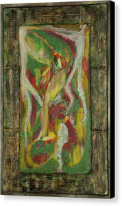 Canvas Print, Rho #40 Abstract Wall Art - Canvas Print,Sensory Art House