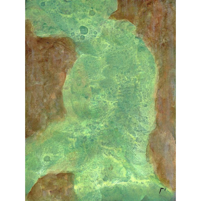 Rho 48 Abstract Wall Art - Art Print