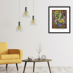 Rho 13 - Abstract Wall Art Print