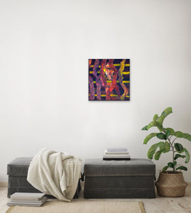 Canvas Print, Rho(ρ) #11  - Abstract Wall Art - Canvas Print,Sensory Art House