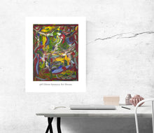 Load image into Gallery viewer, Canvas Print, Rho(ρ) #13  - Abstract Wall Art - Canvas Print,Sensory Art House