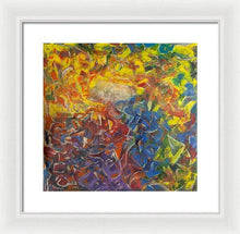 Load image into Gallery viewer, Framed Print, Rho(ρ) #2  - Premium Framed Print,Sensory Art House