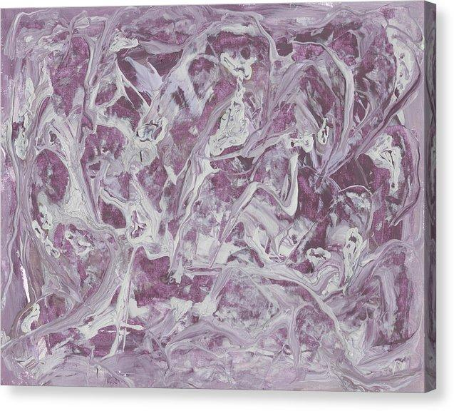 Canvas Print, Rho(ρ) #37 - Abstract Wall Art - Canvas Print,Sensory Art House