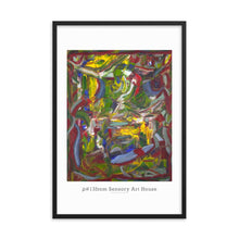 Load image into Gallery viewer, Framed Prints, Rho(ρ)#13  - Standard Framed Print,Sensory Art House