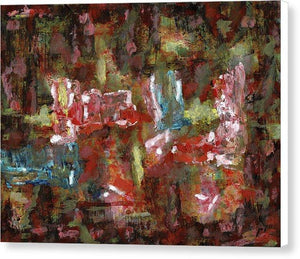 Canvas Print, Sigma #4 Abstract Wall Art - Canvas Print,Sensory Art House