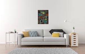 Canvas Print, Sigma #6 Abstract Wall Art - Canvas Print,Sensory Art House