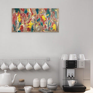 Sigma 10 Abstract Wall Art  Print