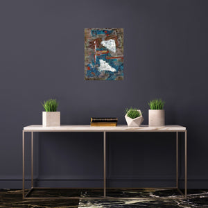 Canvas Print, Sigma(σ) #7 Abstract Wall Art - Canvas Print,Sensory Art House