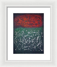 Load image into Gallery viewer, Framed Print, Xi #4 Abstract Wall Art - Framed Print,Sensory Art House