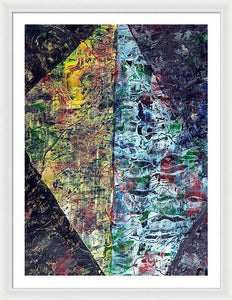 Framed Print, Xi(ξ) #7  - Premium Framed Print,Sensory Art House