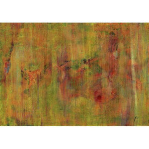 orange-abstract-Gamma 71 Abstract Wall Art Print