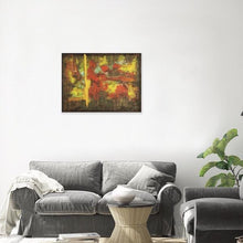 Load image into Gallery viewer, yellow-abstract-art-Gamma 94 Abstract Wall Art Print-Sensory Art House