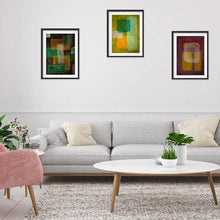 Load image into Gallery viewer, orange-abstract-Mu 24 Abstract Wall Art Print
