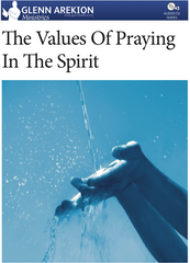 CD - The Values of Praying in the Spirit