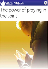 DVD - The power of praying in the Spirit