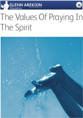 DVD - The Values of Praying in the Spirit